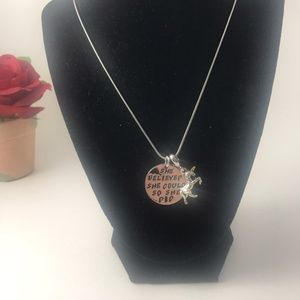Jewelry - She Believed She Could Unicorn Necklace